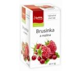 Apotheke Natur Brusnica a malina ovocný čaj 20 x 2 g