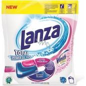 Lanza Total Power Gel Caps gelové kapsle na praní s Vanishem na skvrny 42 kusů