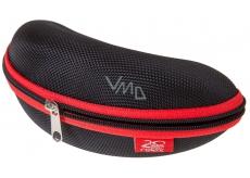 Relax Pevné pouzdro na brýle černo-červené RP018A