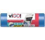VIGO! Sáčky do odpadkového koša zaťahovacieho, 13 μ, 60 litrov 60 x 70 cm 13μ 10 kusov