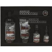 Basic Essentiel multi olej na pokožku a fúzy 30 ml + pleťový krém 75 ml + gél na holenie 150 ml + 4v1 sprchový gel 500 ml + 100% bavlnený vrecúško, kozmetická sada pre mužov
