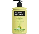 Authentic Toya Aróma Ice Lime & Lemon tekuté mydlo dávkovač 400 ml