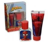 Marvel Spiderman toaletná voda pre deti 30 ml + sprchový gél 70 ml, darčeková sada
