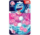 Domestos Power 5 Pink Magnolia Wc pevný blok 2 x 55 g