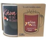 Albi Meniace hrnček Káva-víno 310 ml