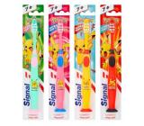 Signal Junior Pokémon ultra mäkká zubná kefka 7+ ultra soft 1 kus