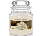 Yankee Candle Coconut Rice Cream - Krém s kokosovou ryžou vonná sviečka Classic malá sklo 104 g