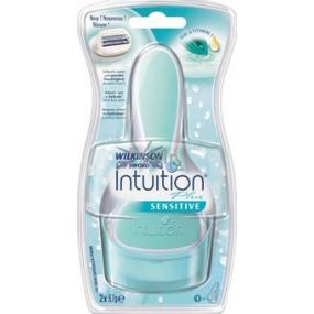 Wilkinson Lady Intuition Plus Sensitive Care holiaci strojček 1 náhradná hlavica