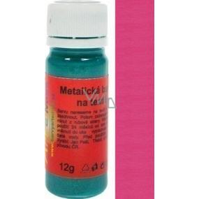 Art e Miss Barva na světlý i tmavý textil 55 metalická vínová 12 g