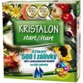 Agro Kristalon Štart vodorozpustnej univerzálne hnojivo 0,5 kg pre 500 l zálievky