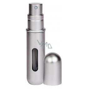 Pressit Perfume Refillable Atomiser plnitelný flakón metalická stříbrná 4 ml