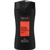 Axe Adrenaline Mint Freeze 2v1 sprchový gel na tělo i vlasy pro muže 250 ml