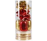 Ditipo Set k balení dárků červeno-zlatý 2811904