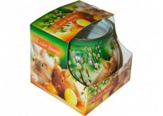Admit Easter Bunny dekoratívne aromatická sviečka v skle 80 g
