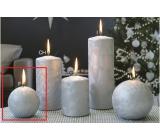 Lima Ľadová sviečka strieborná guľa 80 mm 1 kus