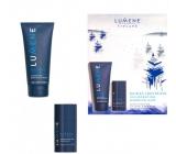 Lumene Raikas Hydrating 2v1 hydratačný šampón a umývací gél pre mužov 200 ml + dezodorant stick pre mužov 70 g, kozmetická sada