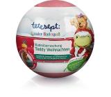 Tetesept Medvedík Teddy gule do kúpeľa pre deti, s vianočné vôňou 140 g
