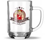 Nekupto Hobby pivné poháre Vášnivý športovec 500 ml