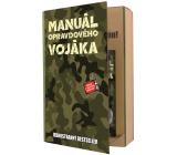 Bohemia Gifts Vojak sprchový gél 200 ml + šampón na vlasy 200 ml, kniha kozmetická sada