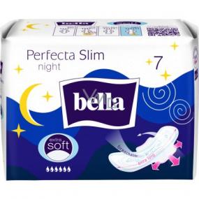 Bella Perfecta Slim Night Extra Soft ultratenké hygienické vložky s krídelkami 7 kusov