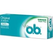 o.b. Original Super Plus tampony 16 kusů