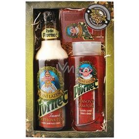 Bohemia Gifts & Cosmetics Pivrnec Vlasový šampon 250 ml + Koupelová pěna 500 ml + Toaletní mýdlo 70 g
