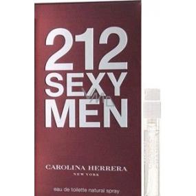 DÁREK Carolina Herrera 212 Sexy Men toaletní voda 1,5 ml s rozprašovačem, Vialka