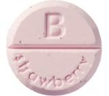 Bomb Cosmetics Jahoda - Strawberry aromaterapie tableta do sprchy 1 kus