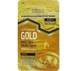 Beauty Formulas Gold Detox zlupovaciu dvojkroková pleťová maska 13 g