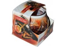 Admit Mulled Wine - Varené víno dekoratívne aromatická sviečka v skle 80 g