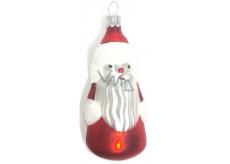Irisa Banky sklenené figúrka Santa, sada 5 kusov