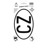 Arch Autosamolepka predpisová CZ 12,5 x 23 cm