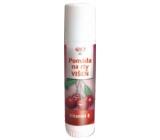 Bione Cosmetics Višeň pomáda na rty 17 ml