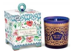 Michel Dizajn Works Kvety s lesných plodov ručne vyrobená vonná sviečka v skle 184 g