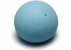 EP Line Antistresový loptička svietiace v tme svetlo modrý 6,5 cm