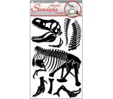 Samolepka na stenu dinosaurus 50 x 32 cm