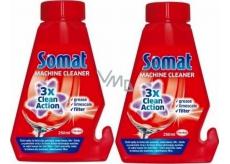 Somat Čistič umývačky pre starostlivosť o umývačku 2 x 250 ml