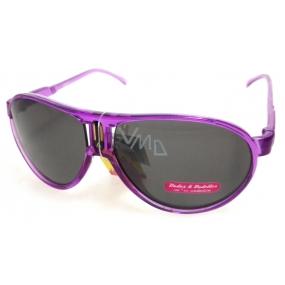 Dudes & Dudettes Sluneční brýle pro děti fialové DD4707