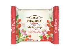 Green Pharmacy Plody kustovnice a Mandľový olej toaletné mydlo 100 g