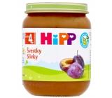 HiPP Ovocie Bio Slivky ovocný príkrm, znížený obsah laktózy a bez pridaného cukru pre deti 125 g