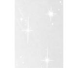 Ditipo Celofán v rolke bielej hviezdy 250 x 70 cm