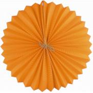 Lampión guľatý oranžový 25 cm