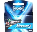 Wilkinson Xtreme 3 náhradní hlavice 4 kusy