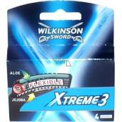 Wilkinson Xtreme 3 náhradné hlavice 4 kusy