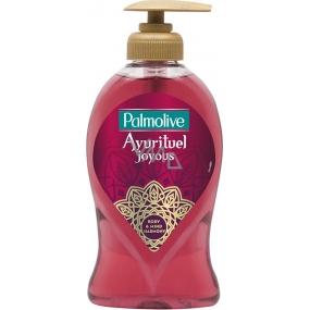 Palmolive Ayurituel Joyous tekuté mydlo s dávkovačom 250 ml
