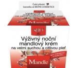 Bione Cosmetics Bio Mandle výživný noční mandlový krém velmi suchá a citlivá pleť 51 ml