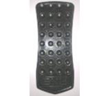 Oboustranná přísavka do koupelny černá udrží sprchový gel na kachličkách 1 kus