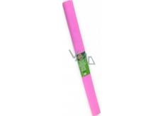 Koh-i-Noor krepový papier 50 x 200 cm, biely ružový