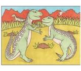 Maľovanie vodou dinosaury č.3 28 x 21 cm