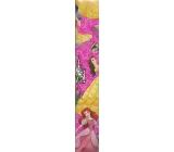 Ditipo Disney Vánoční balicí papír dětský Princess tmavě růžový 2 m x 70 cm